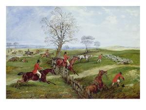 The Hunt by Henry Thomas Alken