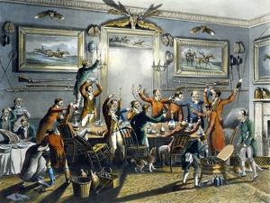 The Toast, from 'Foxhunting', Engraved by Thomas Sutherland (1785-1838) by Henry Thomas Alken