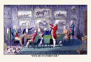 Toast to Fox Hunting by Henry Thomas Alken