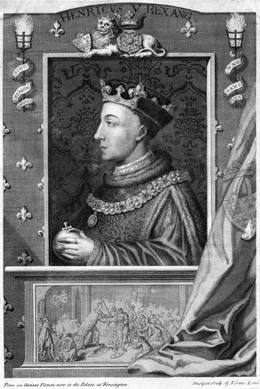 Henry V, King of England-George Vertue-Giclee Print