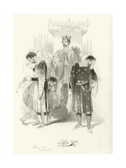Henry V, Part 2-Joseph Kenny Meadows-Giclee Print