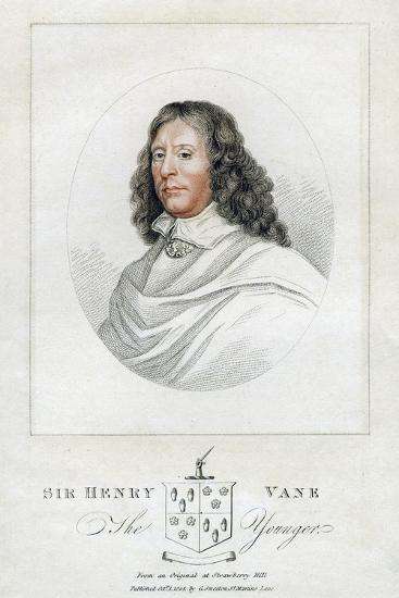 Henry Vane the Younger, Statesman and Member of Parliament, 1814--Giclee Print