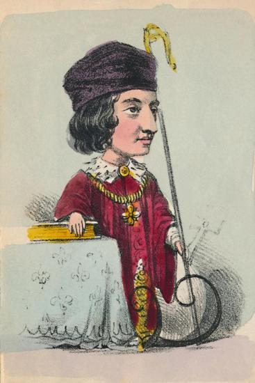 'Henry VI', 1856-Alfred Crowquill-Giclee Print