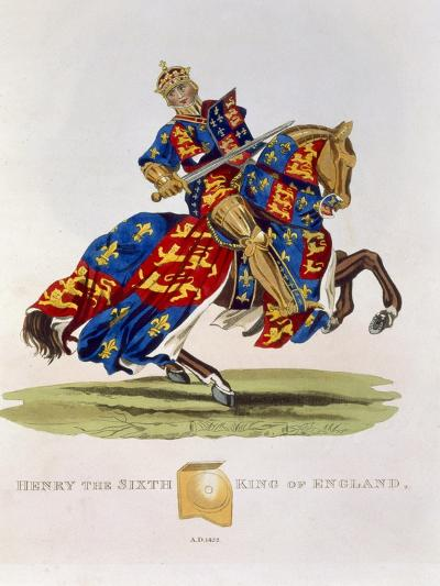 Henry VI, King of England--Giclee Print