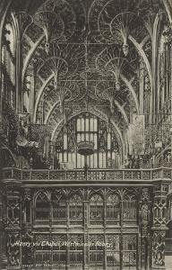 Henry VII Chapel, Westminster Abbey, London, England