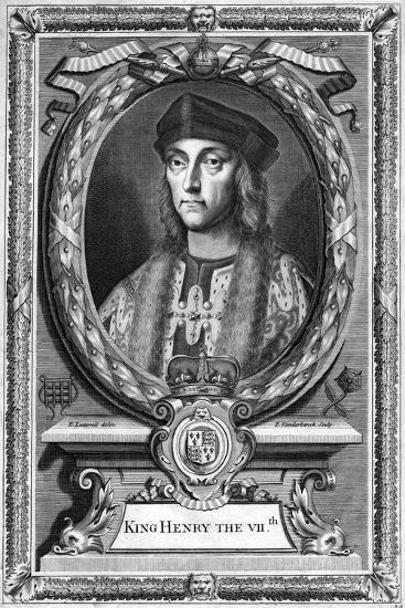Henry VII of England, (17th Centur)-P Vanderbanck-Giclee Print