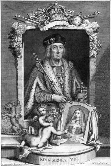 Henry VII of England, (18th Centur)-George Vertue-Giclee Print