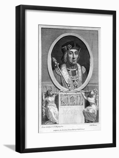 Henry VII of England-John Keyse Sherwin-Framed Premium Giclee Print