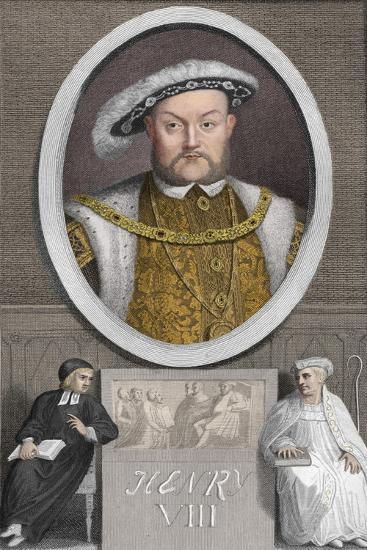 'Henry VIII', 1788-Unknown-Giclee Print