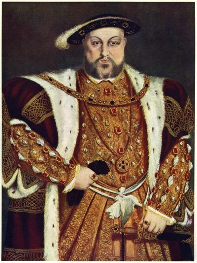 Henry VIII, C1517-1540-Hans Holbein the Younger-Giclee Print