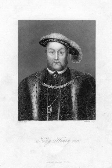Henry VIII of England, (1491-154)-Edwards-Giclee Print