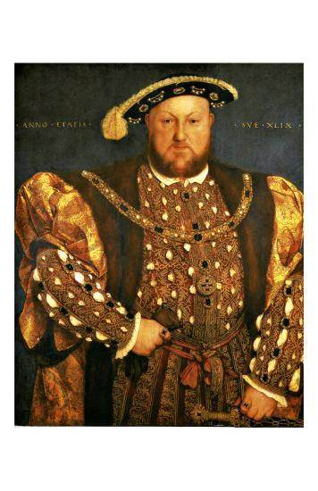 Henry VIII-Hans Holbein the Younger-Giclee Print