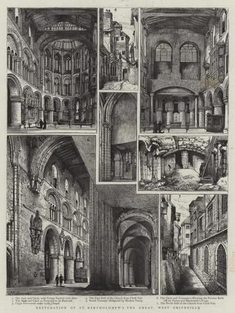 Restoration of St Bartholomew's the Great, West Smithfield