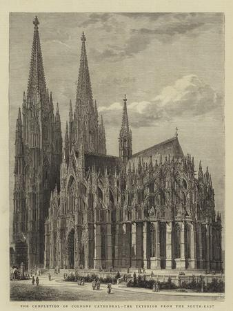 The Completion of Cologne Cathedral, the Exterior from the South-East