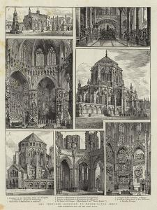 The Proposed Addition to Westminster Abbey by Henry William Brewer