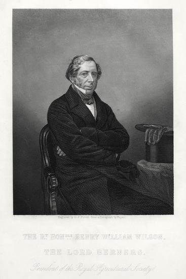 Henry William Wilson, 11th Baron Berners, C1880-DJ Pound-Giclee Print