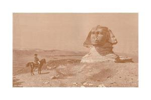 'Bonaparte Before the Sphinx', 1886, (1896) by Henry Wolf