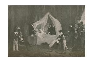 'Death of Napoleon I', 1821, (1896) by Henry Wolf