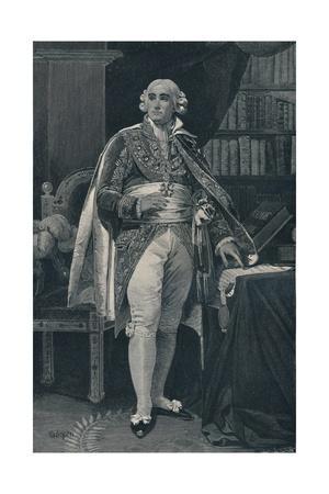 'Jean-Jacques-Régis De Cambacérès - Duke of Parma', c1800, (1896)