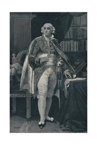 'Jean-Jacques-Régis De Cambacérès - Duke of Parma', c1800, (1896) by Henry Wolf