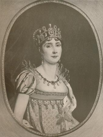 'Josephine - Empress of the French', c1808, (1896)
