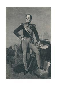'Marshal Emmanuel, Marquis De Grouchy', c1834, (1896) by Henry Wolf