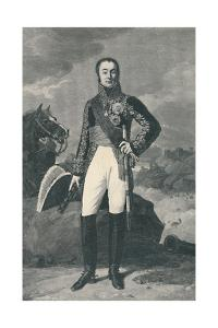 'Marshal Nicolas-Charles Oudinot, Duke of Reggio', 1811, (1896) by Henry Wolf