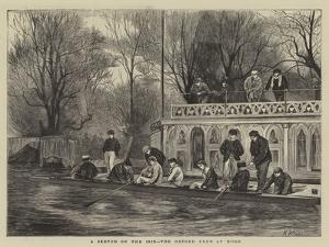 A Sketch on the Isis, the Oxford Crew at Home by Henry Woods