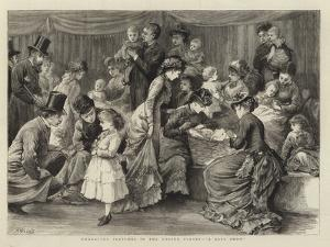 Character Sketches in the United States, A Baby Show by Henry Woods