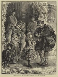 Christmas in the Country, Arrival of the Postman by Henry Woods