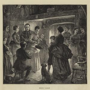 Shrove Tuesday by Henry Woods