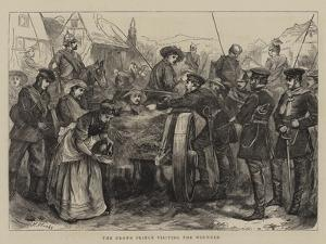 The Crown Prince Visiting the Wounded by Henry Woods