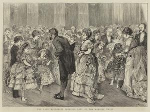 The Lady Mayoress's Juvenile Ball at the Mansion House by Henry Woods