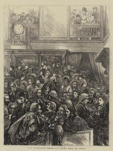 The Tichborne Trial, Luncheon Time in Court by Henry Woods