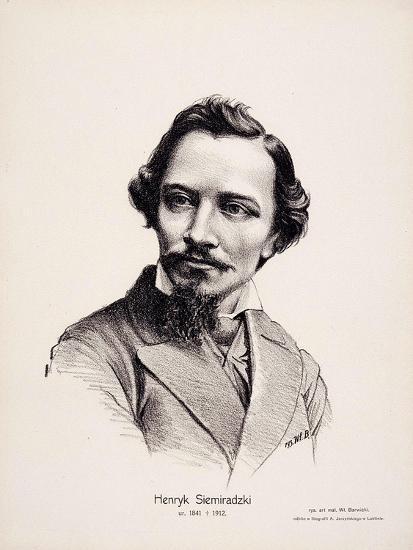 Henryk Siemiradzki (1843-190), 1917-Wladyslaw Barwicki-Giclee Print