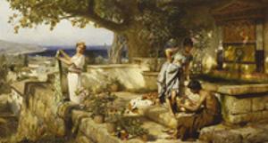 At the Well by Henryk Siemiradzki