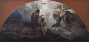 The Baptism of Christ, 1876 by Henryk Siemiradzki