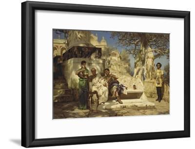 The Patrician's Siesta, 1881