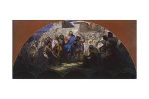 Try of Christ into Jerusalem, 1876 by Henryk Siemiradzki