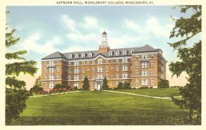 Hepburn Hall, Middlebury College, Middlebury, Vermont