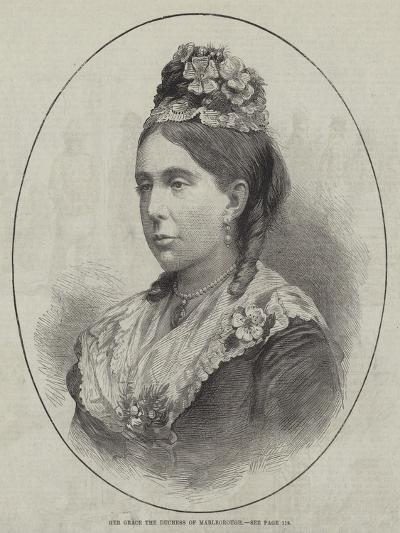Her Grace the Duchess of Marlborough--Giclee Print