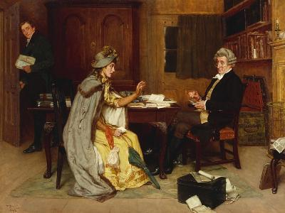 Her Lawyer, 1892-Frank Dadd-Giclee Print