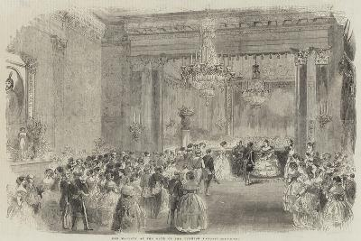Her Majesty at the Ball of the Turkish Embassy--Giclee Print