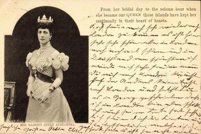 Her Majesty Queen Alexandra of Denmark, Crown--Giclee Print