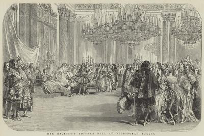 Her Majesty's Costume Ball at Buckingham Palace--Giclee Print