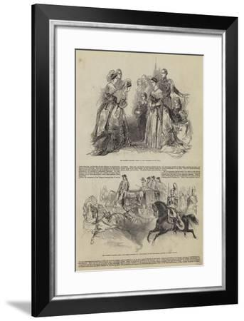 Her Majesty's Drawing Room--Framed Giclee Print
