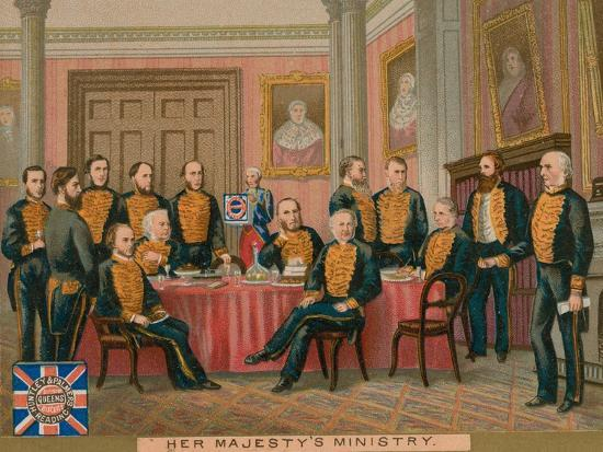 Her Majesty's Ministry--Giclee Print