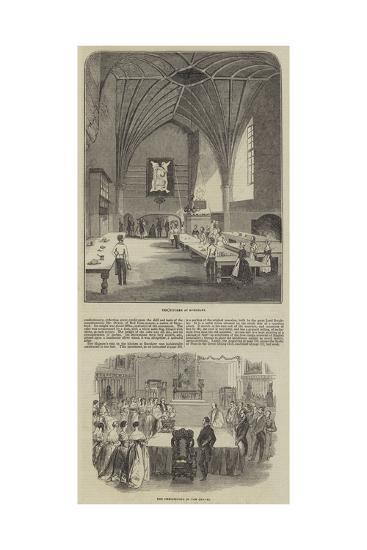 Her Majesty's Visit to Burghley--Giclee Print