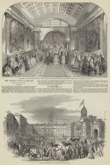 Her Majesty's Visit to Ireland--Giclee Print