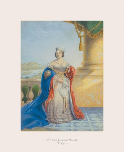 Her Most Gracious Majesty the Queen-The Victorian Collection-Premium Giclee Print